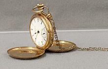 Early 14k Gold marked Ladies Pocket Watch