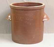 Early  Beaded Stoneware Crock