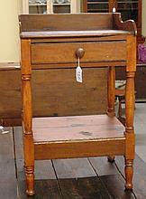 Antique 19th Century 2-Tiered Wash Stand
