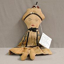 1920 Nurse doll, Hand made, Franklin Co, VA