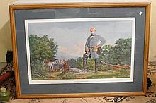 Robert E Lee signed and numbered Print by Jack Smith 1983