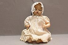 Early H&C Composition Doll - 18