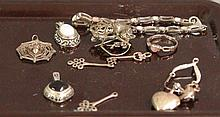 Eleven Pieces of Sterling Silver Jewelry