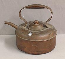 19th Century Copper Tea/Coffee Pot with original lid