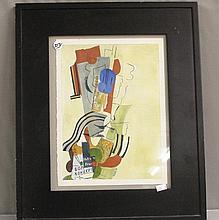 Abstract Art by Hockey 1980