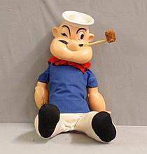 Popeye Character Doll - Plastic
