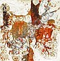 Bruce Conner (American, 1933-2008) Untitled, 1955 24 1/2 x 24in, Bruce Guldner Conner, Click for value