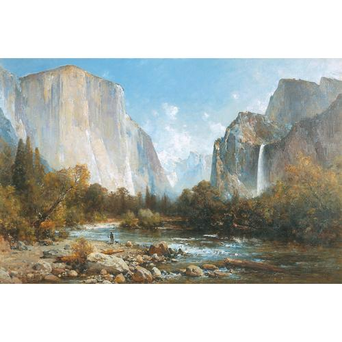 Thomas Hill Yosemite Valley Oil