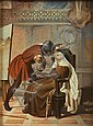 A Berlin (K.P.M.) porcelain plaque , Gabriele Castagnola, Click for value
