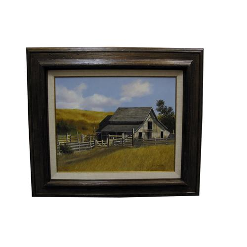 James Peter Cost Landscape Barn Oil