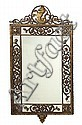An Oscar Bach wrought-iron and cast-bronze mirror circa 1925, Oscar Bach, Click for value