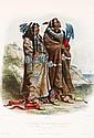 After Karl Bodmer, Sih-Chida & Mahchsi-Karehde, Mandan Indians