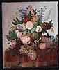 'Anonimo del XIX secolo ''Vaso con fiori'''