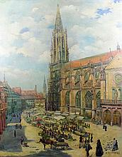 Georg Jacobsen (19th/20th Century) - Oil painting -