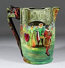 A Royal Doulton pottery