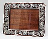 An Edward VII silver rectangular photograph frame