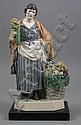 A good Charles Vyse pottery figure -
