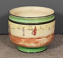 A large Royal Doulton pottery Series ware
