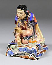 A Royal Doulton pottery figure -