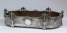 A late 19th/early 20th Century French silvery