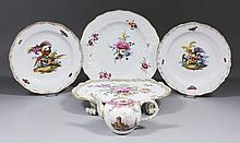 A small collection of 18th/19th Century Meissen
