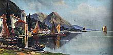 C. Singders (?) (20th Century) - Oil painting -