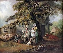 Style of George Morland (1763-1804) - Oil painting
