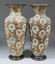 A pair of Doulton Lambeth
