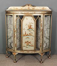 A 20th Century painted and gilt decorated