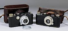 A Leica camera, No. 116797, with original leather