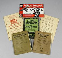 A quantity of booklets and pamphlets of World War