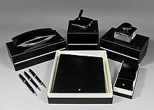 A collection of five modern unused Mont Blanc