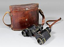 A pair of French World War I field glasses by