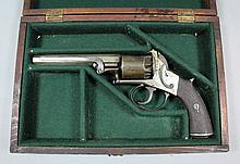 An unusual 19th Century English double action .385