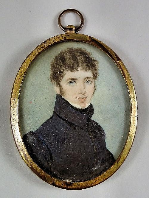 Early 19th Century English School - Miniature