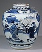 A 17th Century Chinese blue and white porcelain