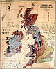 Archibald Geikie - A large coloured geological map