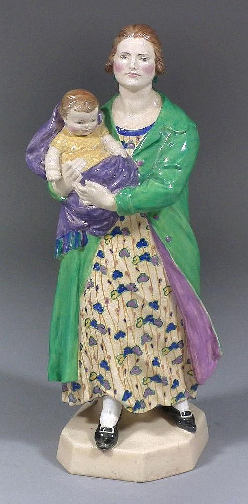 A good 1920s Charles Vyse pottery figure -