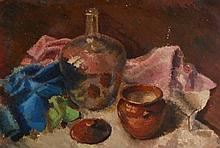 NORMAN JAQUES (1922 - 2014) OIL PAINTING ON CANVA