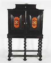 * 18th CENTURY AND LATER, NORTH EUROPEAN EBONISED