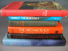 Lot of Six Chinese Art and History Books