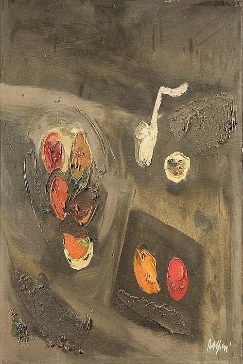 ATTILIO ALFIERI (1904-1992) Natura morta di frutta
