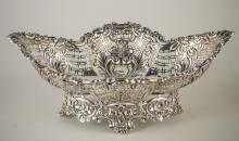 English Silver Basket