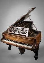 Chickering Parlour Grand Piano