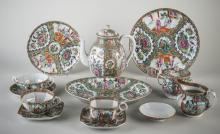 Rose Medallion Porcelain Service