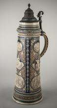German Pottery Beer Stein