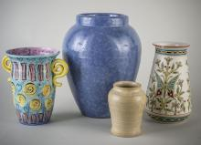 Four Art Pottery Vases