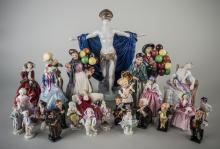 Group of Royal Doulton Porcelain Figures