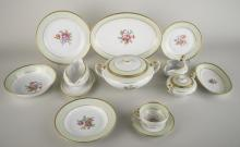 Bavarian Porcelain Dinner Service