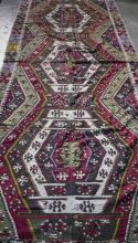 Two Flatweave Rugs